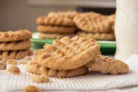 Homemade Peanut Butter Cookies
